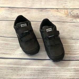 NWOT Puma Steeple Black Glitz  Sneakers Size 8c